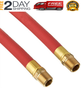 Goodyear 12709 Red Rubber Air Hose 1 2 Inch X 50 Feet 250 Psi