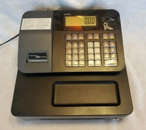 Casio Electronic Cash Register Pcr t273 Thermal Printer With Functionality