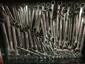Large Vintage Craftsman Wrench Lot Used