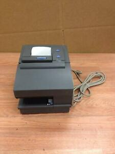 Ibm 4610 2cr Thermal Pos Receipt Printer Usb Powered Cable Included Working