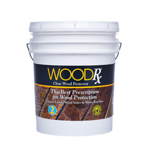 Wood Projector Clear Water Repellent Maintain Decks Siding Docks Fences Outdoor