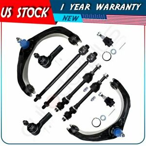 For 2006 2008 Dodge Ram 1500 2wd Control Arms Ball Joints Tie Rod Ends Kit X10