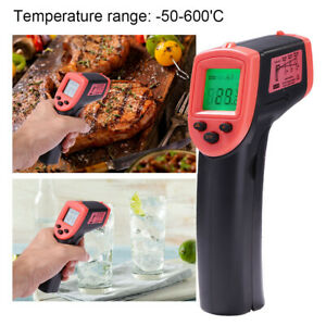 Infrared Thermometer Lcd Temperature Gun Ir Temp Meter Non contact Digital Hot