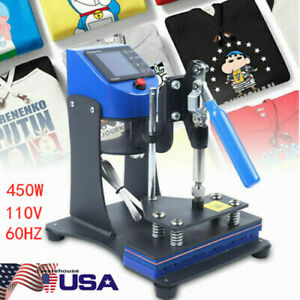 10pens Heat Press Machine For Ball point Diy Transfer Print Logo 3d Sublimat Usa