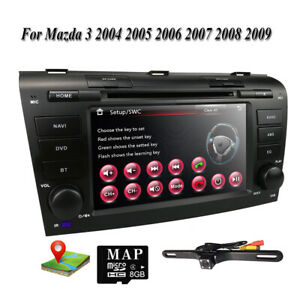 Fr Mazda 3 2004 2005 2006 2007 2008 2009 Car Dvd Stereo Gps Map Radio Player Usb