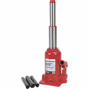 Strongway 6 Ton Hydraulic High Lift Double Ram Bottle Jack Automotive Hoist Lift