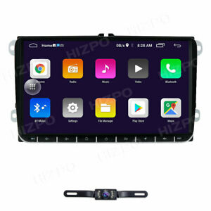 9 Android 9 0 Car Stereo For Vw Volkswagen Touareg Jetta Gps 2din Radio Player