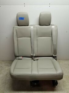 2011 2019 Nissan Nv3500 Last 4th Row Bench Seat In Tan Leather