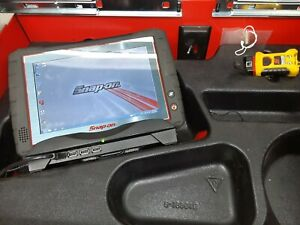 Snap On Zeus Scanner With Charging Dock And Scope Leads