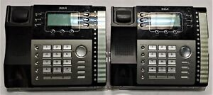 Lot Of 2 Rca Visys 25424re1 4 line Business Phones