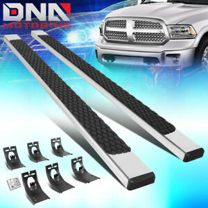 For 2009 2020 Dodge Ram Truck Extended quad Cab 5 Flat Board Side Step Bars