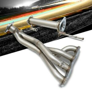 Megan Stainless Exhaust Header Manifold Ver 2 For 06 11 Civic Si Fa 2 0l 2dr 4dr
