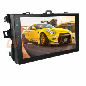 For Toyota Corolla 2006 2012 Gps Navigation Android 9 1 Car Stereo Radio Wifi 4g