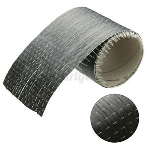 12k 200gsm Real Carbon Fiber Fabric Cloth Roll Tape Uni directional Weave A