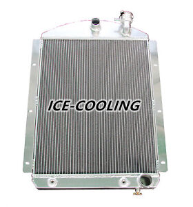4146ch Aluminum Radiator For 1942 46 Chevy Chevrolet Truck Pickup 3 Row 43 44 45