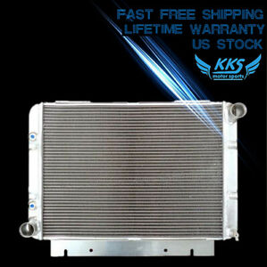 Kks 3 Row Polished Radiator For 1960 61 62 1963 Ford Galaxie 500xl 3 3 7 0 V8 l6