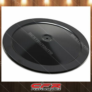 14 Round Black Steel Air Cleaner Top Fit Chvey Ford Mopar With 5 1 8 Neck