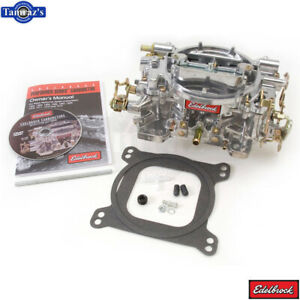 Edelbrock Performer Carburetor 500 Cfm With Manual Choke Satin Finish non egr