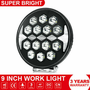 9 Inch 150w Led Work Light Off Road Backup Driving For Jeep 4x4 Truck Trailer