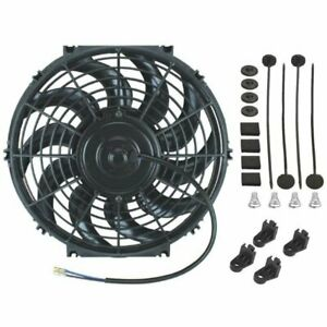 12 Inch Electric Radiator Cooling Fan 12v 80w High Performance Motor 2000 Cfm