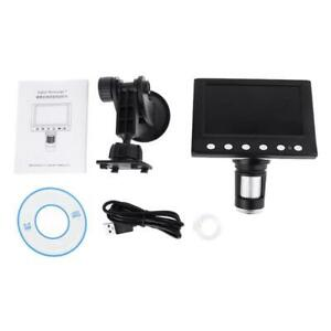 1000x Digital Microscope Magnifier Video Camera 4 3 Lcd Rechargeable Microscope