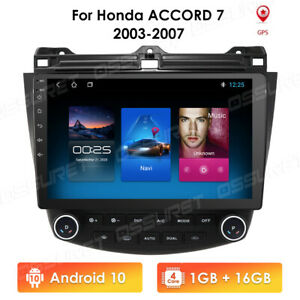 10 1 Android 9 1 Car Gps Stereo Radio For Honda Accord 2003 2004 2005 2006 2007