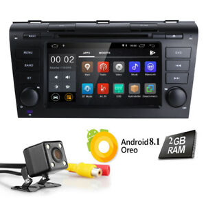 For Mazda 3 2006 2005 2007 2008 Hd Car Stereo Android 8 1 7 Dvd Gps Radio Cam E