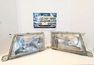 1995 1996 1997 Lexus Ls400 Halogen Headlights Pair 2