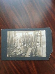 Vintage Oil Well Drilling Photo