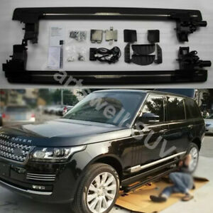 Deployable Electric Running Board Side Steps Fit For Range Rover 2017 2018