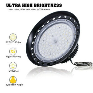 150 Watts Ufo Led Light High Bay 5000k Warehouse Industrial Lighting Ac 100 277v