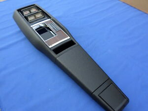 New 1968 Camaro 4 Speed Console Gauge Cluster Gm Licensed And Assembled