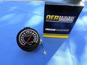 New 1970 71 Challenger Cuda Barracuda E body Rallye Speedometer O
