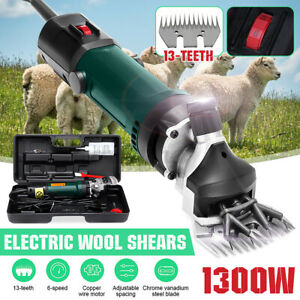 1300w 110v Electric Shear Shearing Clipper Animal Sheep Goat Pet Farm Machine Us