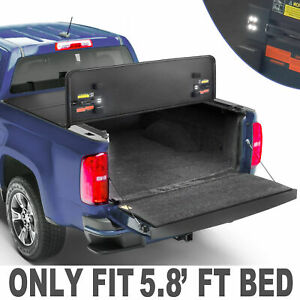 3fold 5 8ft Bed Hard Tonneau Cover For 09 19 Ram 1500 Truck Us Patent 14mm Thick