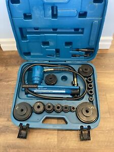Temco Industrial Th0037 4 Hydraulic Knockout Punch Electrical Conduit Hole Tool