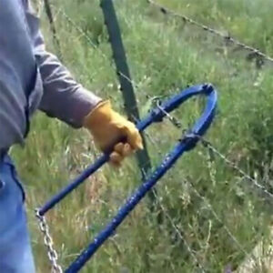 Wire Fence Repair Tool Farm Heavy Duty Hand Operated Chain Strain Home Garden