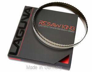 1 X 12 14 16mm Vari Tooth Pitch X 142 Resaw King Carbide Tipped Bandsaw Blade