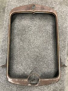 Vtg Original 1929 Nash Radiator Shell Grille Surround Rat Hot Rod Trog Scta Oem