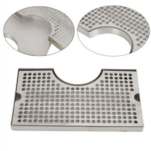 Stainless Steel Drip Surface Mount Tray 12 7 No Drain Surface Wall Mount Beer