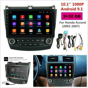 For Honda Accord 2003 2007 10 1inch Android 9 1 Stereo Car Radio Gps Mp5 Player