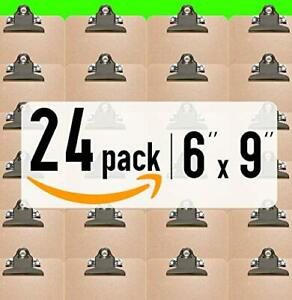 High Capacity Clip Mini Clipboards 6 X 9 24 Pack Solid Made Memo Siz