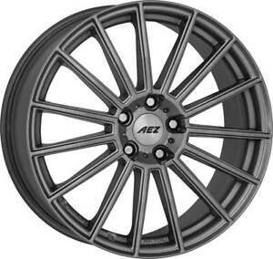 4 Aez Steam Graphite Wheels 8 0jx19 5x112 For Bmw 5 6 X2 X3 X4