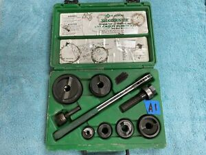 lota1 Greenlee 7238sb Slug Buster Knockout Punch Set Complete 1 2 2