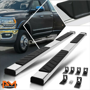 For 09 20 Ram 1500 3500 Truck Crew Cab 5 Pad Side Step Nerf Bar Running Board