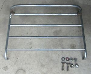 1961 Triumph Tr3a Tr3 Trunk Boot Luggage Rack Us Amco Style Rough Used Orig