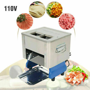Electric Meat Slicing Cutting Machine Meat Cutter Slicer Commercial Home 110v
