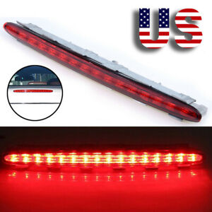 Red Lens Trunk Rear Third Brake Stop Tail Light For Mercedes Benz Clk W209 02 09