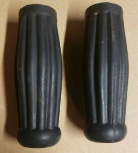 """1940s COCA-COLA BOTTLE STYLE Tricycle Hand Grips 3-1/2""""Long with 11/16 ID toy"""