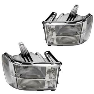For 2007 2013 Gmc Sierra 1500 Pair Of Headlights Replacement Factory New